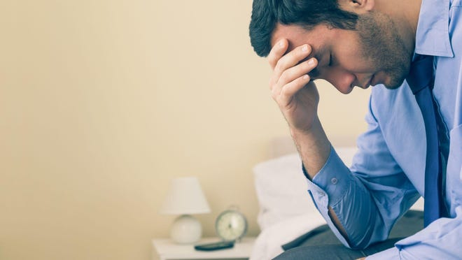 Depressive symptoms may be accompanied by anxiety.