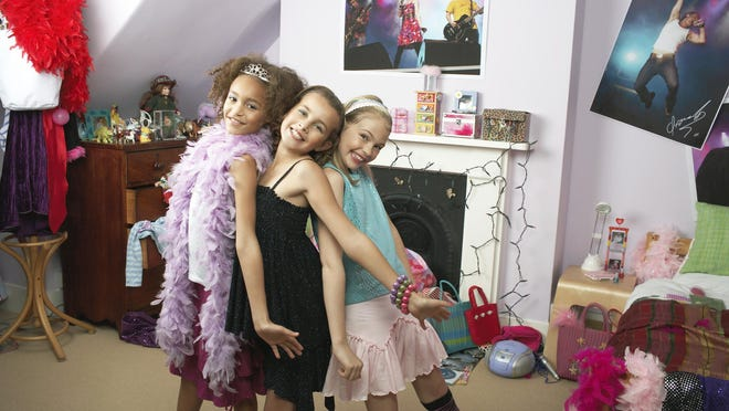 Slumber parties or sleepovers are an important bonding experience for girls.