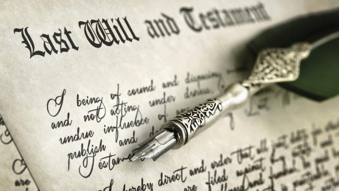 Getty Images/iStockphotoWhat stipulations do you want to put on your heirs' inheritance after you're gone? Signing Last Will and Testament