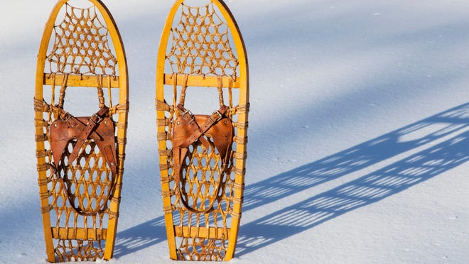 Bear Paw snowshoes.