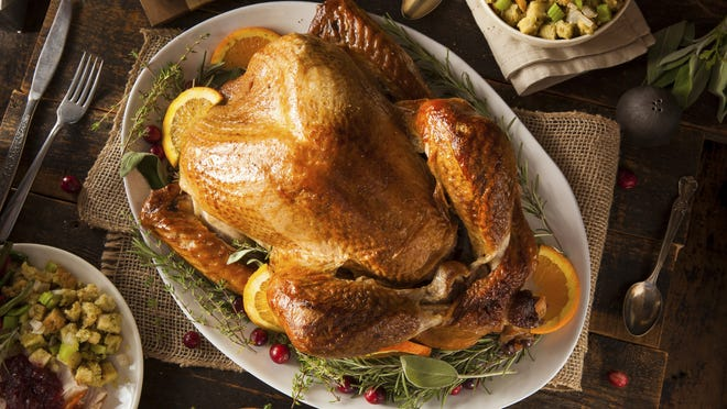 For turkeys less than 16 pounds, estimate 1 pound per serving.