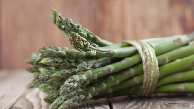 Spring is the season for fresh asparagus. For best flavor, try to eat it within a day or two of purchase.