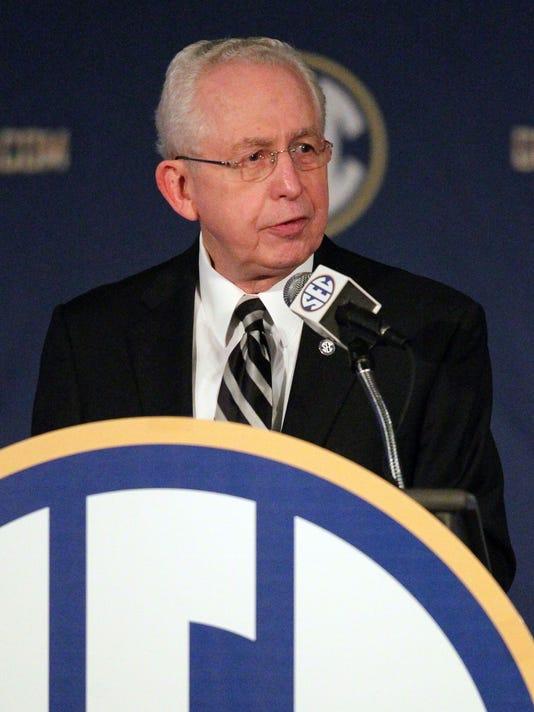 USP NCAA FOOTBALL: SEC MEDIA DAY S FBC USA AL