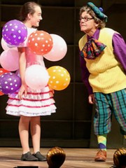 "Kristina Gregg as the Balloon Girl in ""Gypsy"" on Riverside's"