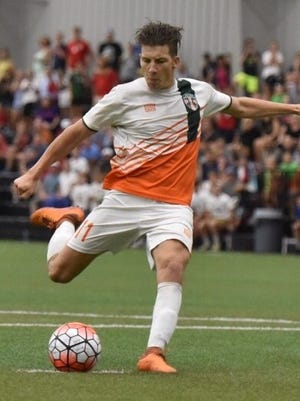 Signed from USL Western Conference club Portland Timbers 2, Russell Cicerone is a 23-year-old forward who played in 29 games, scoring once.