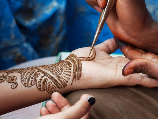 Henna art will be among the activities at Fred Yiran