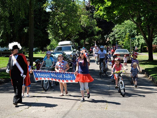 A children's parade will begin at the corner of 17th