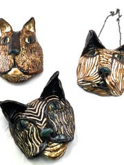 The work of Lily Calabrese of Burlington is among works of pottery featured in this month's exhibit at Frog Hollow.