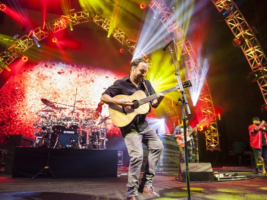 The Dave Mathews Band performed at Riverbend Music