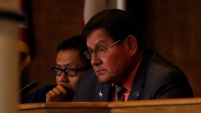 Navajo Nation Council Speaker LoRenzo Bates is calling into question the legitimacy of the tribe's new budget, claiming that certain appropriations were wrongly vetoed by President Russell Begaye.