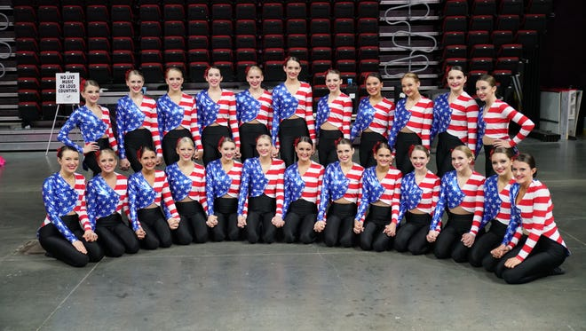 The Southeast Polk Rhythemettes swept away the competition at Nationals, taking first place in jazz, lyrical, kick, hip hop and pom. They then took first place in the large school category with the combined scores and took the highest score overall regardless of team and school size.