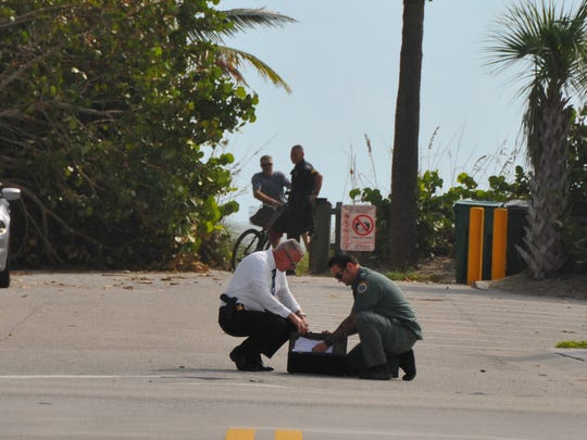 The Sheriff's bomb squad and robot was called into Cocoa Beach when a briefcase was discovered by the side of the road at 12th St. Northbound traffic was re-routed to S. Orlando Ave.  It turned out to be just a forgotten briefcase, the road was re-opened about 11:15 a.m.