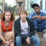 From left, Olivia Cooke, Thomas Mann and RJ Cyler star in Me and Earl and the Dying Girl.