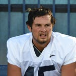 Nevada's Austin Carrow, a walk-on tight end, was put on scholarship for this season.