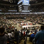 A total of 30 local wrestlers qualified Saturday for next week's state tournament at Pepsi Center (pictured last year).