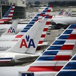 American Airlines planes at Miami International Airport on June 8, 2015.