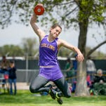 Fort Collins High School grad and Brown University freshman Josephine Natrasevschi set the Brown discus record over the weekend.