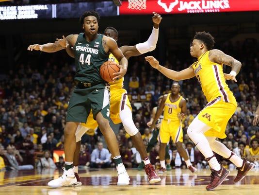 NCAA Basketball: Michigan State at Minnesota