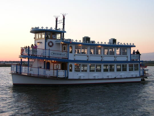 The River Belle and The River Queen offer Mother's Day brunch cruises.