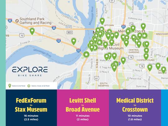 Explore Bike Share will set up 60 bike share stations