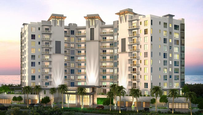 Grandview at Bay Beach is an 11-story luxury high-rise to be built by London Bay Homes in the gated Waterside neighborhood at Bay Beach on the southern tip of Fort Myers Beach. Reservations are being accepted.
