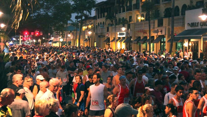 This is the first time the Naples Daily News Half-Marathon has been canceled