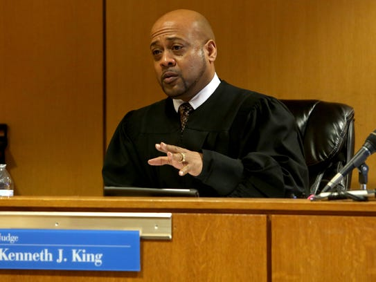 Judge Kenneth King talks about his ruling, dismissing