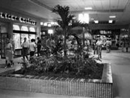 "In an Aug. 2, 1972, photograph, some of the ""very first"" shoppers are seen at West Town Mall after it officially opened. The News-Sentinel reported that the Proffitt's and J.C. Penney stores opened that day, joining the Miller's store which had opened on March 13. The Sears, Roebuck, and Co. store would not open until July 1973."
