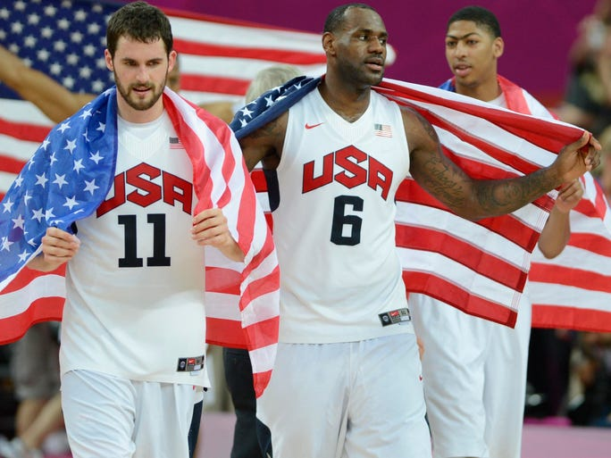 Kevin Love, left, is one of the best power forwards in the NBA and soon will rejoin 2012 Olympics teammate LeBron James with the Cavaliers. Flip through this gallery to see the path he took.