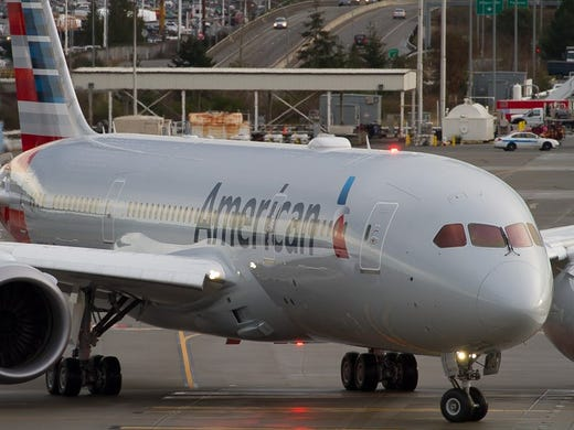 b5dc816f902e American Airlines  first Boeing 787 Dreamliner takes