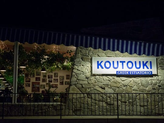 Koutouki is a traditional Greek restaurant in Palm Desert.
