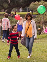Halle Berry and Sage Correa in 'Kidnap.'