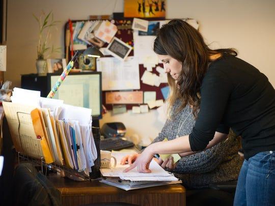 Roberts Communications' senior account executive Lauren