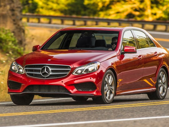 Midsize premium car: Mercedes-Benz E-Class