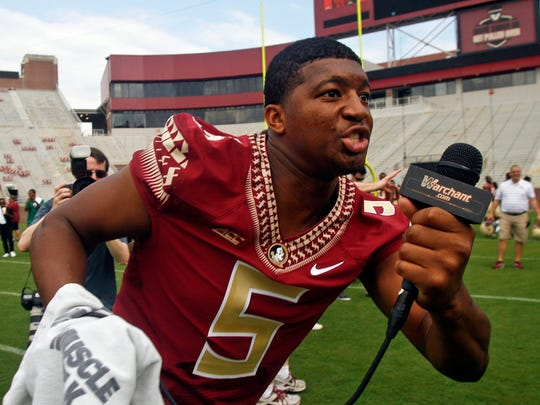 ed15b099 Outside stadium, Florida State fans show Jameis Winston fatigue