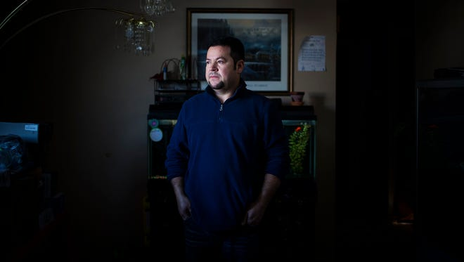 Elmer Pena, 38, has a lot to lose: his house, car, job and his temporary protected status as a legal resident of the U.S. President Trump announced late last year that TPS protected immigrants would lose their visas.