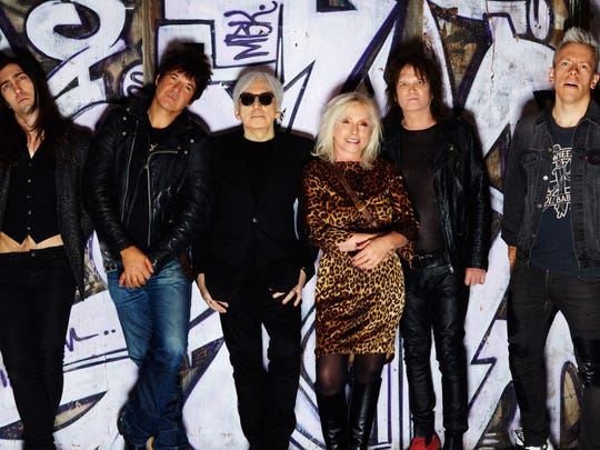 Debbie Harry and Blondie are on tour with Garbage this