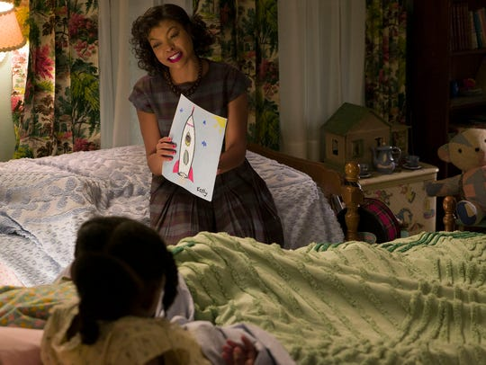 Math genius Katherine Johnson (Taraji P. Henson) is