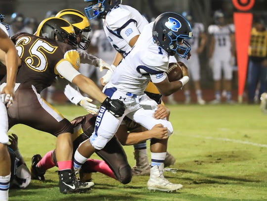 Golden West hosts Redwood during a West Yosemite League