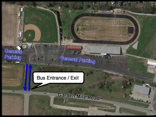 The parking plan for the Sixth District and boys Second