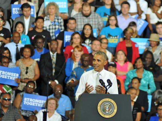 Prsident Obama at UCF