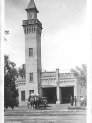 The fire station remained in operation until 1981,