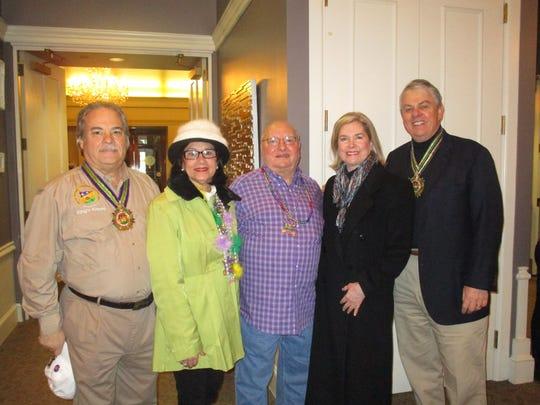 Frank and Pauline Gerami, Michael Doumit, Chere and Ralph Kraft .