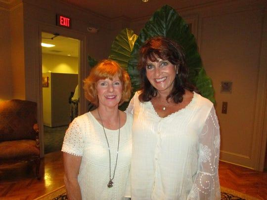 Bonnie Camos and Rebecca Gardes