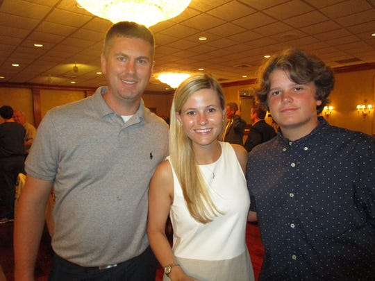 Brian Ford, Paige Kriegel and Ty Martin