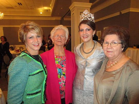 Lady Edith, Victoria Topham celebrates with family at the City Club in River Ranch.