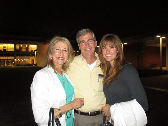 Connie and Mark Guidry and Renee Guidry
