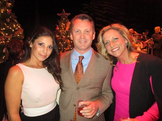 Ronda Atchinson, Shane Poole and Lesley Breaux