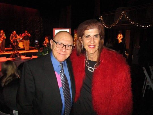 Herman Mire and Julie Calzone
