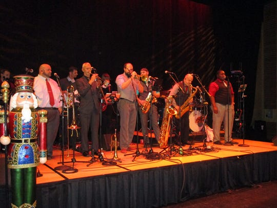 "The band ""Souled Out"" rocked the AcA for the Festival"